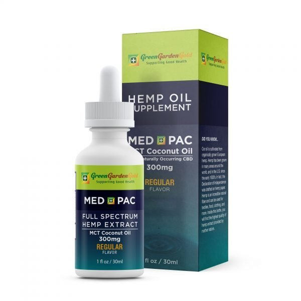 Green Garden Gold MCT Med Pac CBD Oil