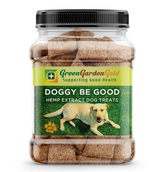 Green Garden Gold 140MG CBD 70PCS Doggy Treats 2MG Each