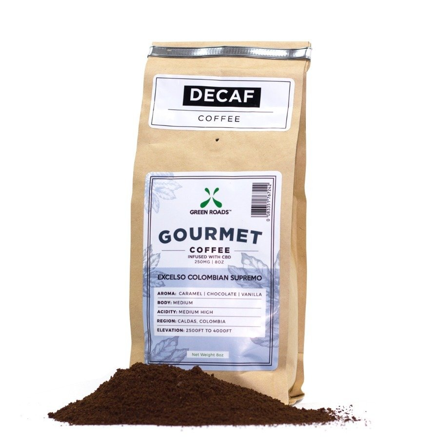 Green Roads 8oz Bag CBD Coffee Grounds
