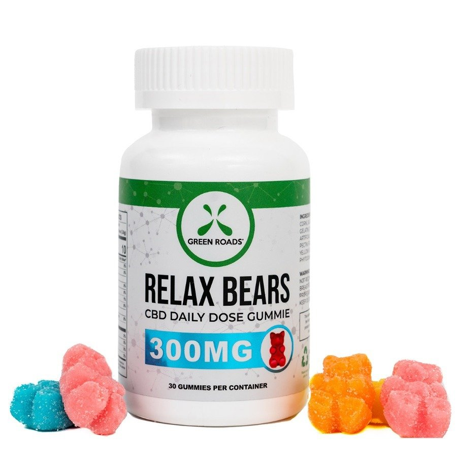 Green Roads 300mg CBD (10mg Each) 30 Ct Relax Gummies