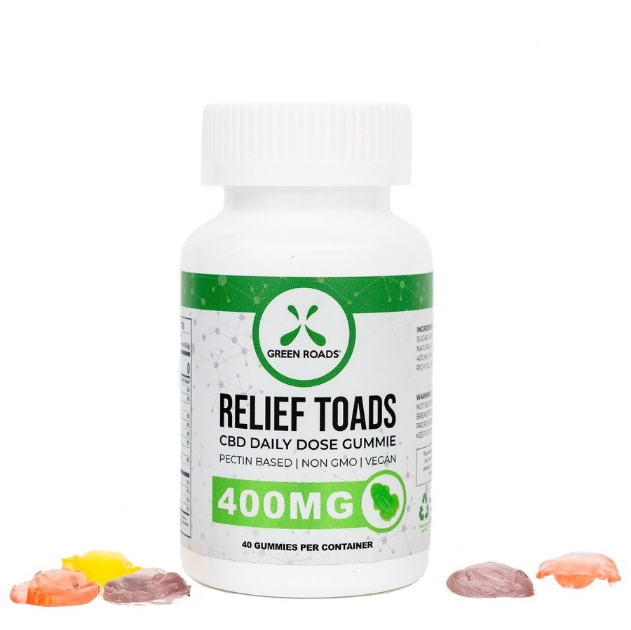 Green Roads 400mg CBD (10mg Each) 40ct Extra Strength Gummies