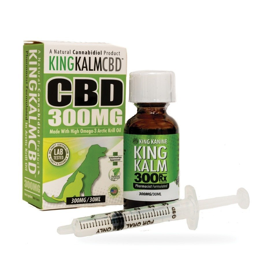 Green Roads 75mg 150mg 300mg CBD 30ml Bottle King Kalm For Pets