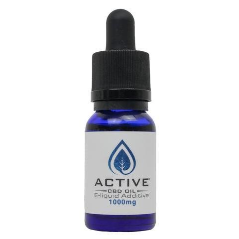 Active CBD Vape oil E-Liquid additive - 1000mgs