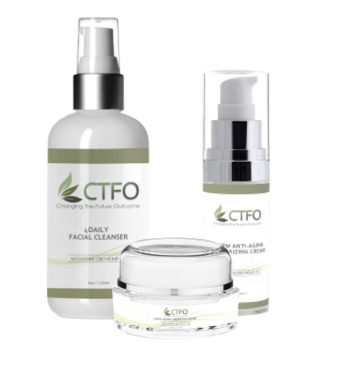 CTFO CBD Facial Care Product Package