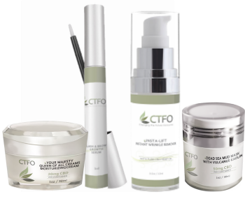 CTFO CBD Luxury Facial Care Product Package