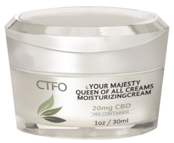 CTFO CBD Your Majesty Queen of all Creams Moisturizing Cream – 20mg