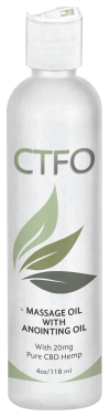 CTFO CBD Massage Oil with Anointing Oil