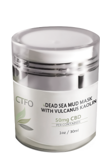 CTFO CBD Dead Sea Mud Mask with Vulcanus Kaolin – 50mg