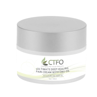 CTFO Ultimate Deep Healing Pain Cream with Emu Oil 1oz - 60mg CBD