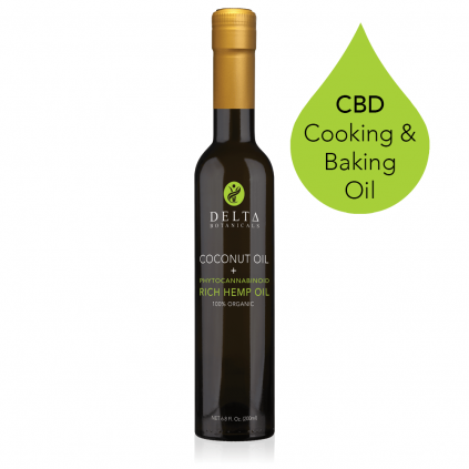 Delta Botanicals 200mg CBD Cooking and Baking Oil