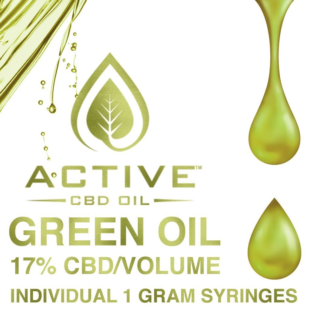 Active CBD oil - Green 17%