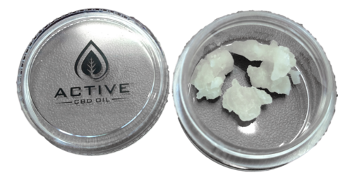 Active CBD oil Shatter plus Terpenes 1 gram