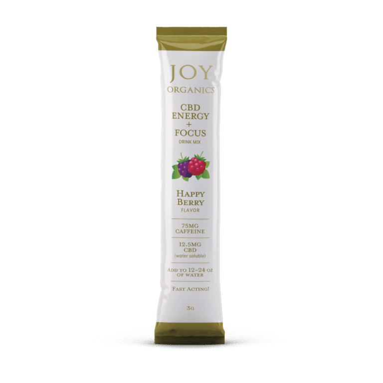 Joy Organics CBD Energy Drink Mix - 5 pack