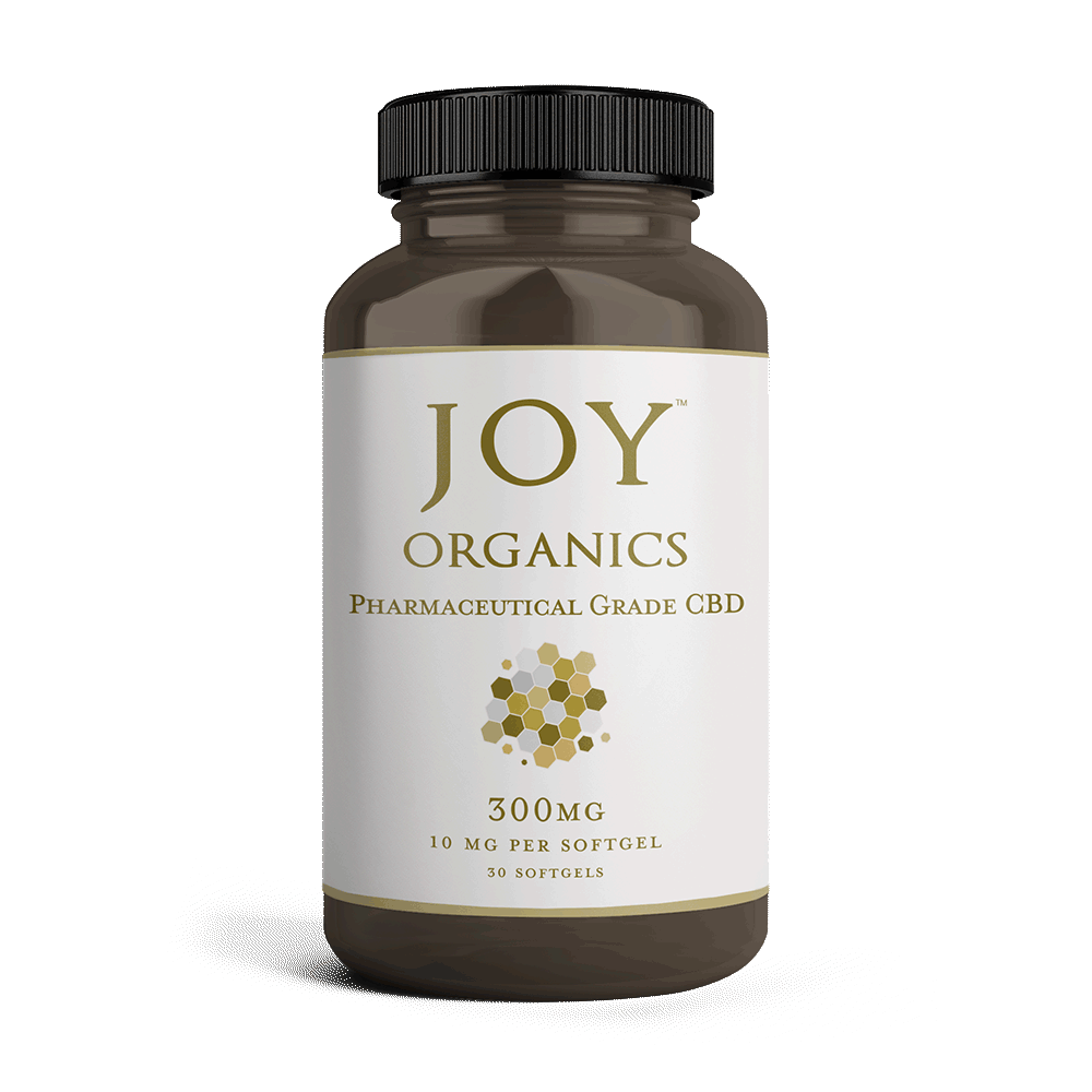 Joy Organics CBD Softgels pills 10mg 25mg