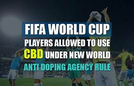 FIFA World Cup Soccer Allows The Used Of CBD